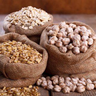 Getreide, Reis, Kerne